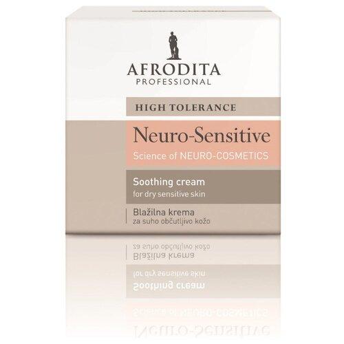 Крем для лица успокаивающий для очень чувствительной сухой кожи NEURO-SENSITIVE, Afrodita Cosmetics, Словения, 50мл
