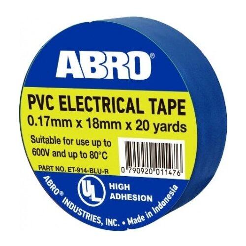 Изолента ABRO ET-914 термостойкая синий сумка abro 027531 37 60