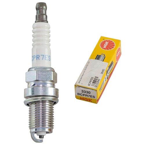 Свеча зажигания NGK 3330 BCPR7ES 1 шт. свеча зажигания ngk 91039 ifr7x7g 1 шт