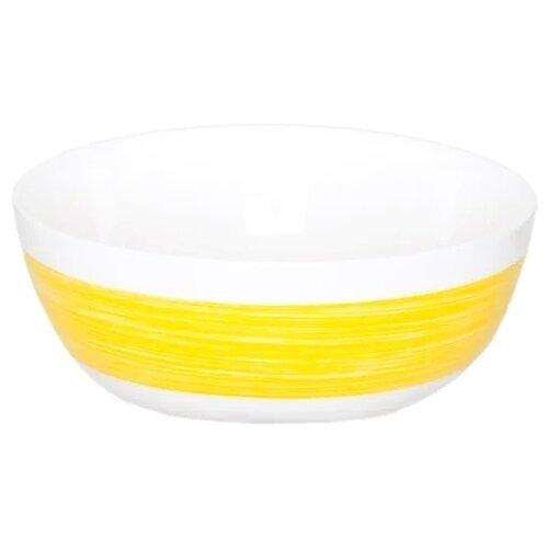 Luminarc Салатник Color Days 12 см белый/желтый