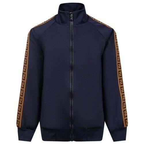 Олимпийка FENDI размер 140, синий футболка fendi размер 140 синий