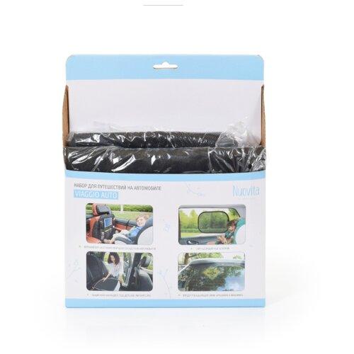 Купить Nuovita Набор для путешествий Viaggio auto черный, Аксессуары для колясок и автокресел