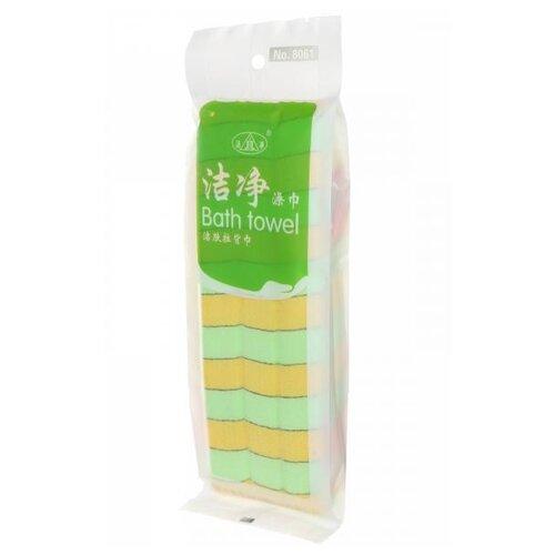 Мочалка Удачная покупка RYP151 желтый/зеленый