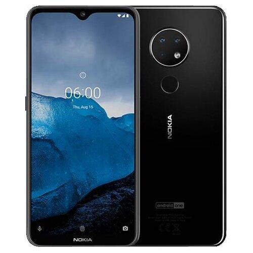 Смартфон Nokia 6.2 3/32GB матовый черный смартфон