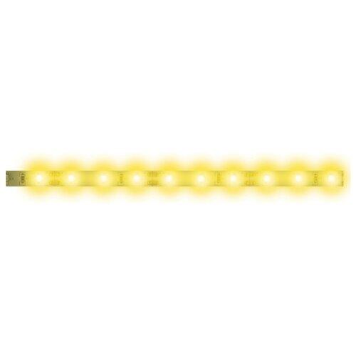 Светодиодная лента Uniel ULS-N21-2835-120LED/m-8mm-IP67-220V-8W/m-50M-YELLOW 50 м