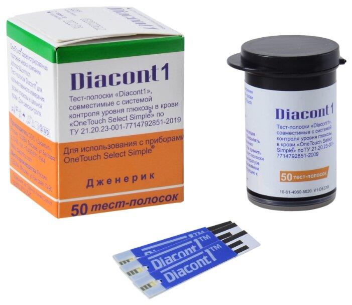 Diacont тест-полоски Diacont1