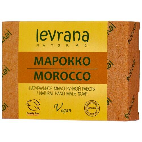 Мыло кусковое Levrana Марокко натуральное ручной работы, 100 г levrana натуральное мыло календула 100 г
