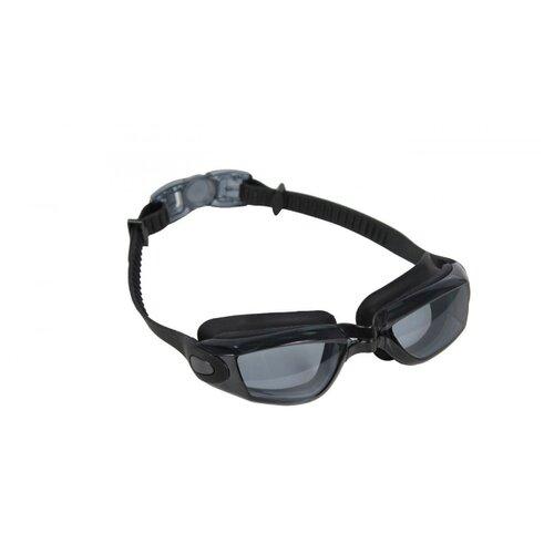 Очки для плавания BRADEX Комфорт+ (прозрачные) черный/прозрачный