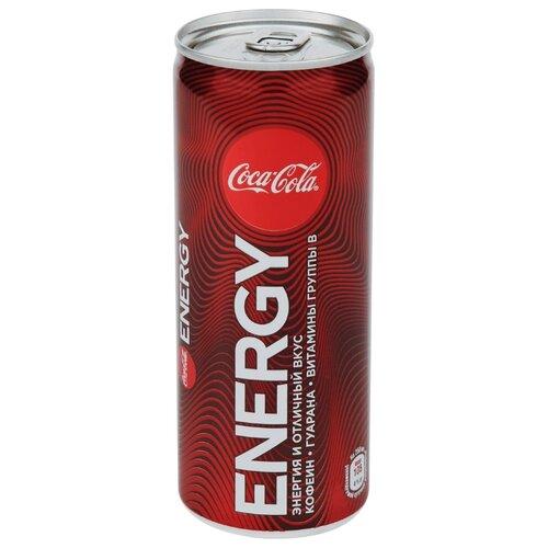 Энергетический напиток Coca-Cola Energy, 0.25 л