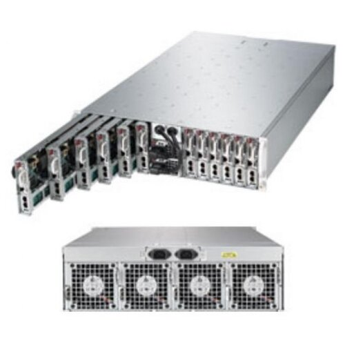 Сервер Supermicro SuperServer 5038ML-H12TRF без процессора/без ОЗУ/без накопителей/2 x 1620 Вт