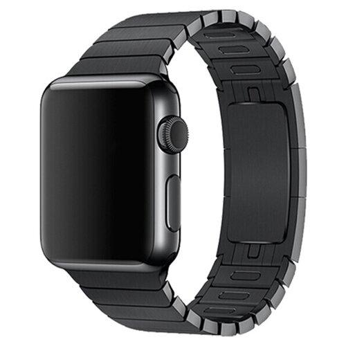 Devia Ремешок стальной Link Bracelet для Apple Watch 38/40mm черный