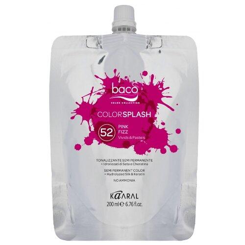 Купить Краситель прямого действия Kaaral Baco Color Splash 52 Pink Fizz, 200 мл