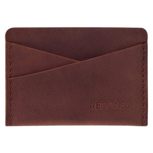 Кредитница Reconds Pocket, коньяк кошелек reconds reconds mp002xu02f9z
