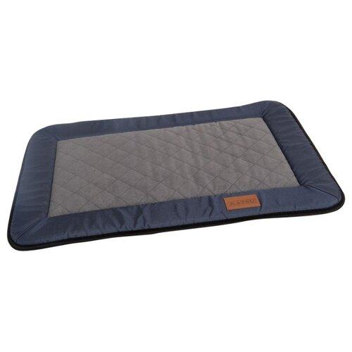 Лежак для собак Katsu Plaska M 98х72х2.5 см синий/серый