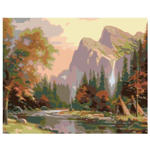 Купить Картина по номерам, 100 x 125, KTMK-90160, Живопись по номерам , набор для раскрашивания, раскраска, Картины по номерам и контурам