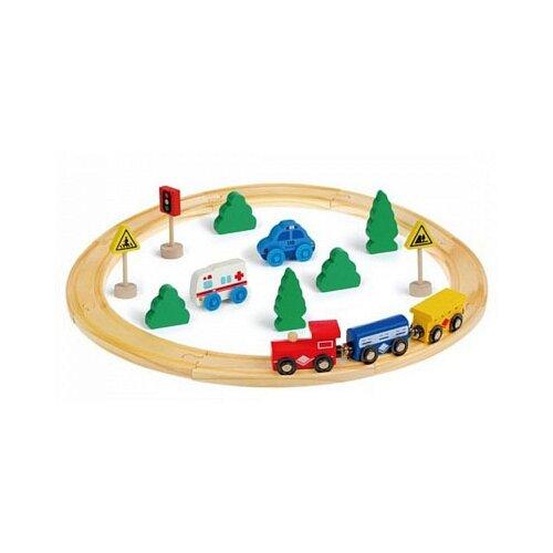 Фото - Mapacha Игровой набор Развивающая железная дорога, 76832 развивающая игрушка mapacha суперкуб разноцветный