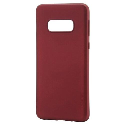 Чехол X-LEVEL Guardian для Samsung Galaxy S10e бордовый