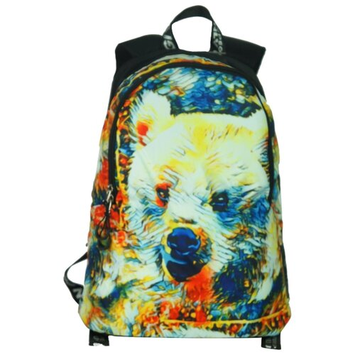 ufo people рюкзак школьный цвет черный 7227 Рюкзак Ufo People 8923 17 черный/красный/синий