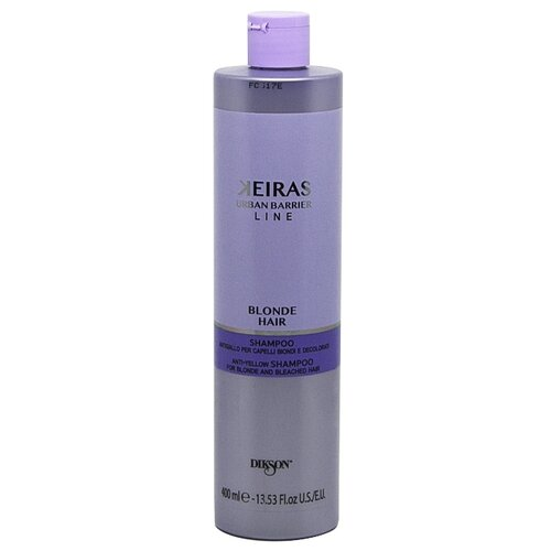 Dikson шампунь Keiras Urban Barrier Line Blonde Hair против желтизны для светлых и осветленных волос 400 мл line шампунь