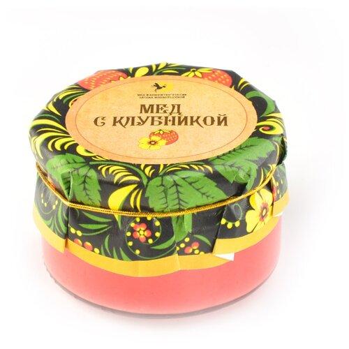 Крем-мед Мед и Конфитюр Русский стиль с клубникой 230 г