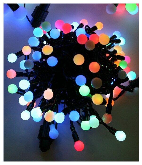 Гирлянда Globo Lighting Venuto 190 см, 29953-20, 20 ламп, теплый белый/белый провод