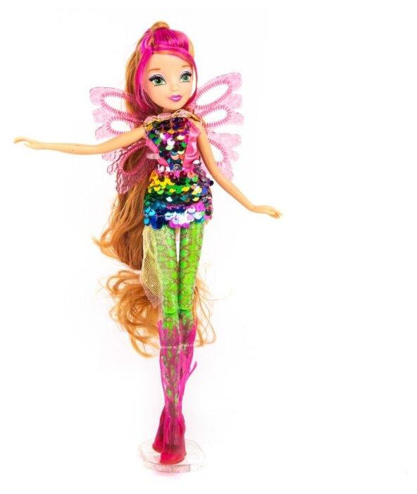 Кукла Winx Club Сиреникс Мыльные пузыри Флора, 27 см, IW01731802