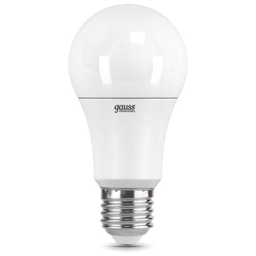 Лампа светодиодная gauss 23225, E27, A60, 15Вт лампа светодиодная gauss 23219 e27 a60 20вт
