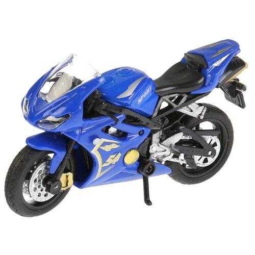 цена на Мотоцикл ТЕХНОПАРК Супербайк (ZY797893-R) 12 см синий