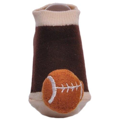 Купить Носки Lansa размер 18-20, коричневый