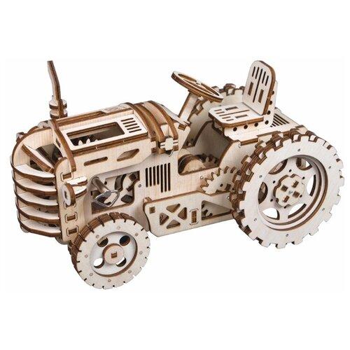 Купить Сборная модель Robotime Трактор (LK401), Сборные модели