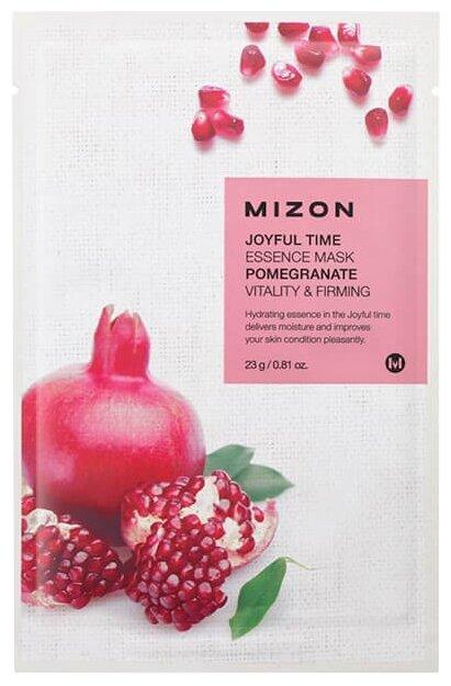 Mizon Joyful Time Essence Mask Pomegranate Тканевая маска с экстрактом граната