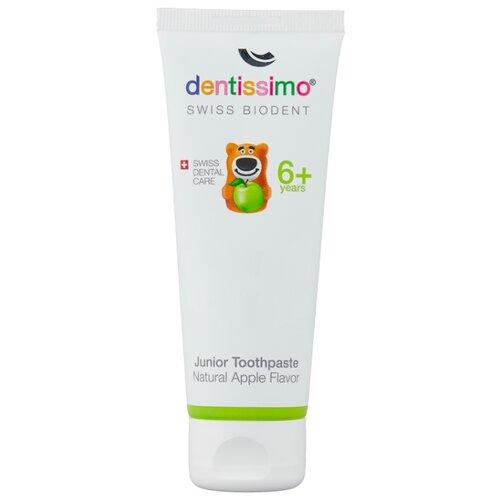 Купить Зубная паста Dentissimo Junior Apple 6+, 50 мл, Гигиена полости рта