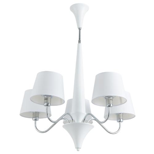 Люстра Arte Lamp Gracia A1528LM-5WH, E14, 200 Вт люстра arte lamp gracia a1528lm 5wh e14 200 вт