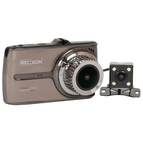Видеорегистратор RECXON QX-5, 2 камеры металлик цена 2017