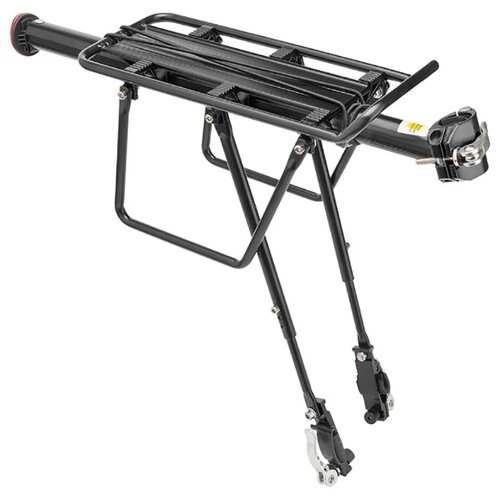Задний багажник на велосипед STELS BLF-H27-3 консольный 20-28 черный задний багажник на велосипед bike attitude cl611 26 28 черный