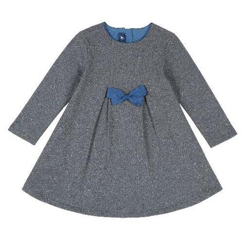 Платье Chicco размер 104, темно-серый