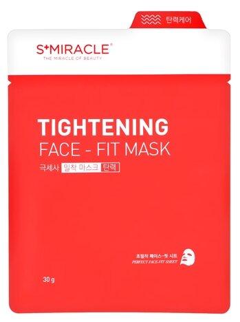 LS Cosmetic тканевая маска S+miracle Tightening Face Fit подтягивающая
