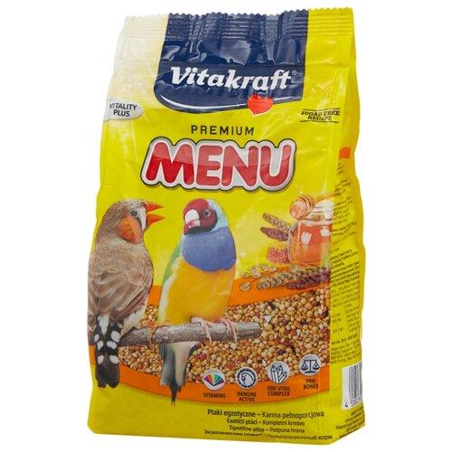 Vitakraft Корм Menu для экзотических птиц 500 г vitakraft vitakraft menu корм для крыс 400 г