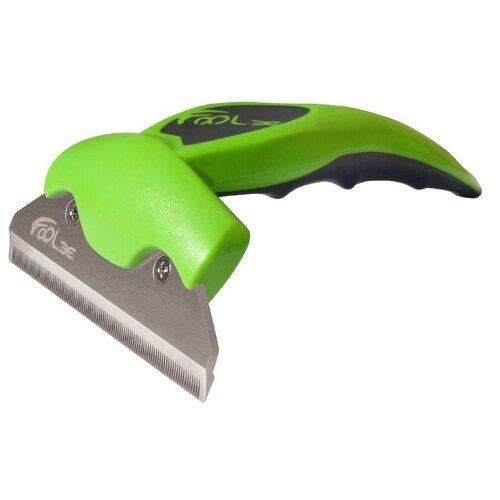Щетка-триммер FoOlee One XL 13 см зеленый