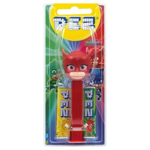 Игрушка с конфетами PEZ ассорти PJMasks 17 г игрушка с конфетами pez ассорти hello kitty 17 г