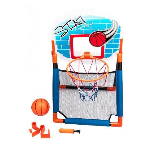 Фото - Игра BRADEX Баскетбольный щит 2 в 1 (DE 0367) мультиколор сумка охлаждающая bradex фризи изи с гелевым наполнением мультиколор