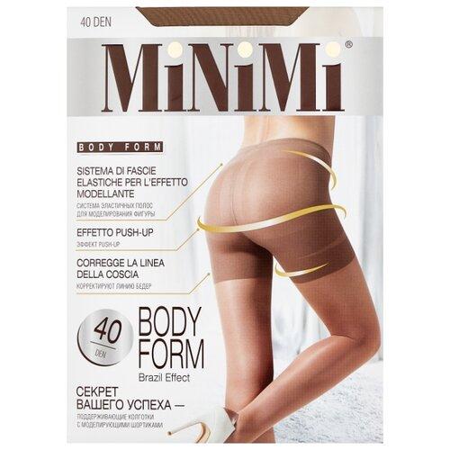 Колготки MiNiMi Body Form 40 den, размер 3-M, daino (бежевый) колготки minimi body form 40 den размер 4 l daino бежевый