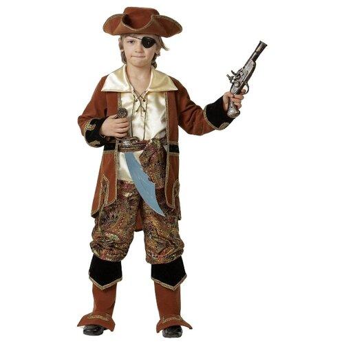 Купить Костюм Батик Капитан Пиратов (924/923), коричневый, размер 158, Карнавальные костюмы