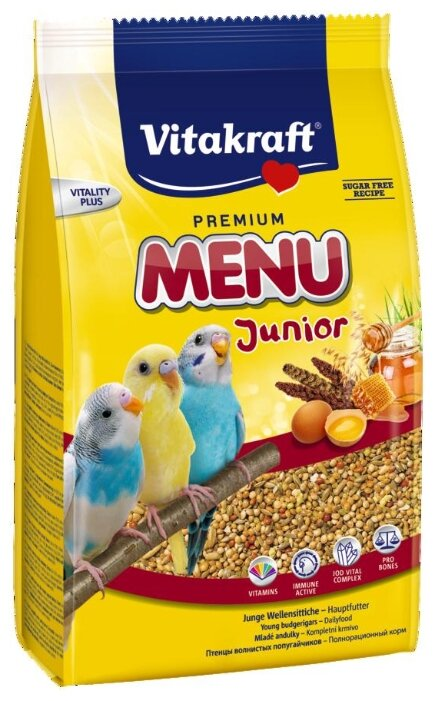 Лакомство Vitakraft Vita Nature просо красное для птиц 80 г (80 г, )