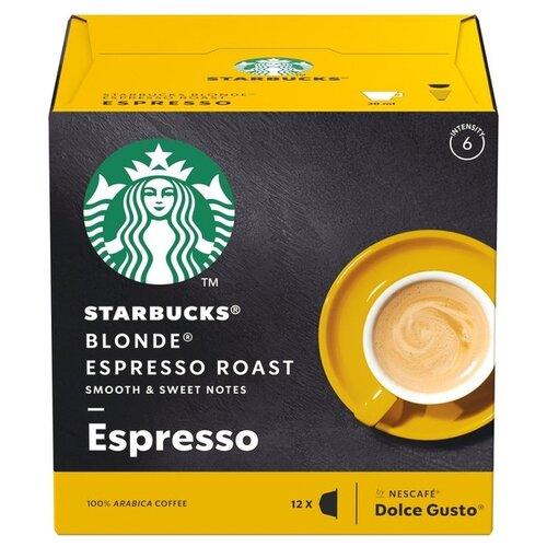 Starbucks Blonde® Espresso Roast (12 капс.) keepcup кружка keepcup roast