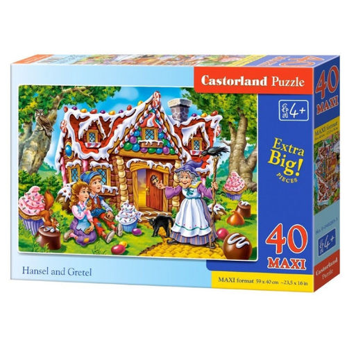 Пазл Castorland Hansel And Gretel (B-040285), 40 дет.