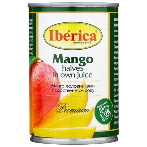 Консервированное манго половинками в собственном соку, жестяная банка 420 г 425 мл lorado томаты в собственном соку 720 мл