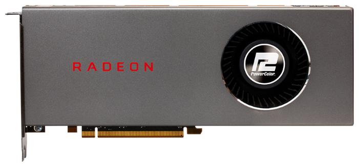 Видеокарта PowerColor Radeon RX 5700 1465MHz PCI-E 4.0 8192MB 14000MHz 256 bit HDMI 3xDisplayPort HDCP