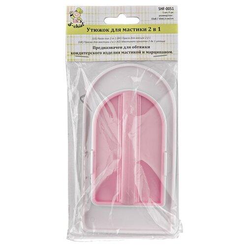 Утюжок для мастики 2 в 1 S-Chief, арт. SHF-0051