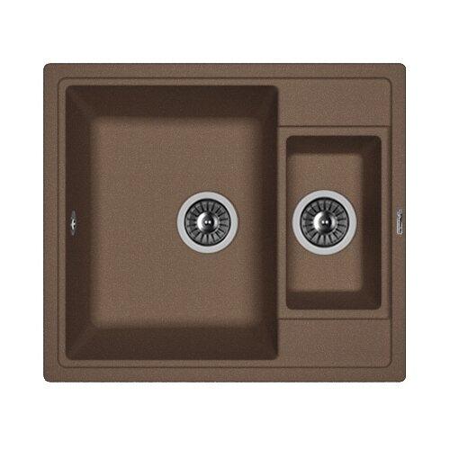 Врезная кухонная мойка 58 см FLORENTINA Липси-580К мокко врезная кухонная мойка 58 см florentina липси 580к мокко